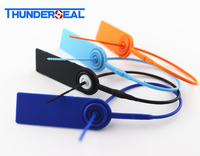 mini plastic strap seal with metal locking