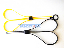 Plastic Disposable Nylon Anti-terrorism Police Handcuff
