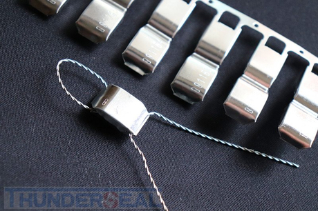 Metal Wire Security Seal Self-Lok Clipseal